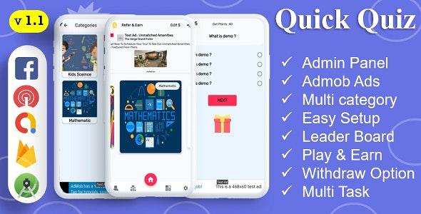 Quick Quiz App