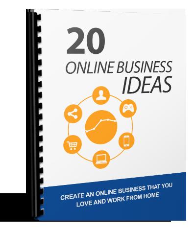 ONLINE BUSINESS IDEAS EBOOK