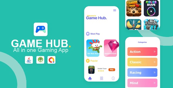 Game Hub v1.0 - All in one game app