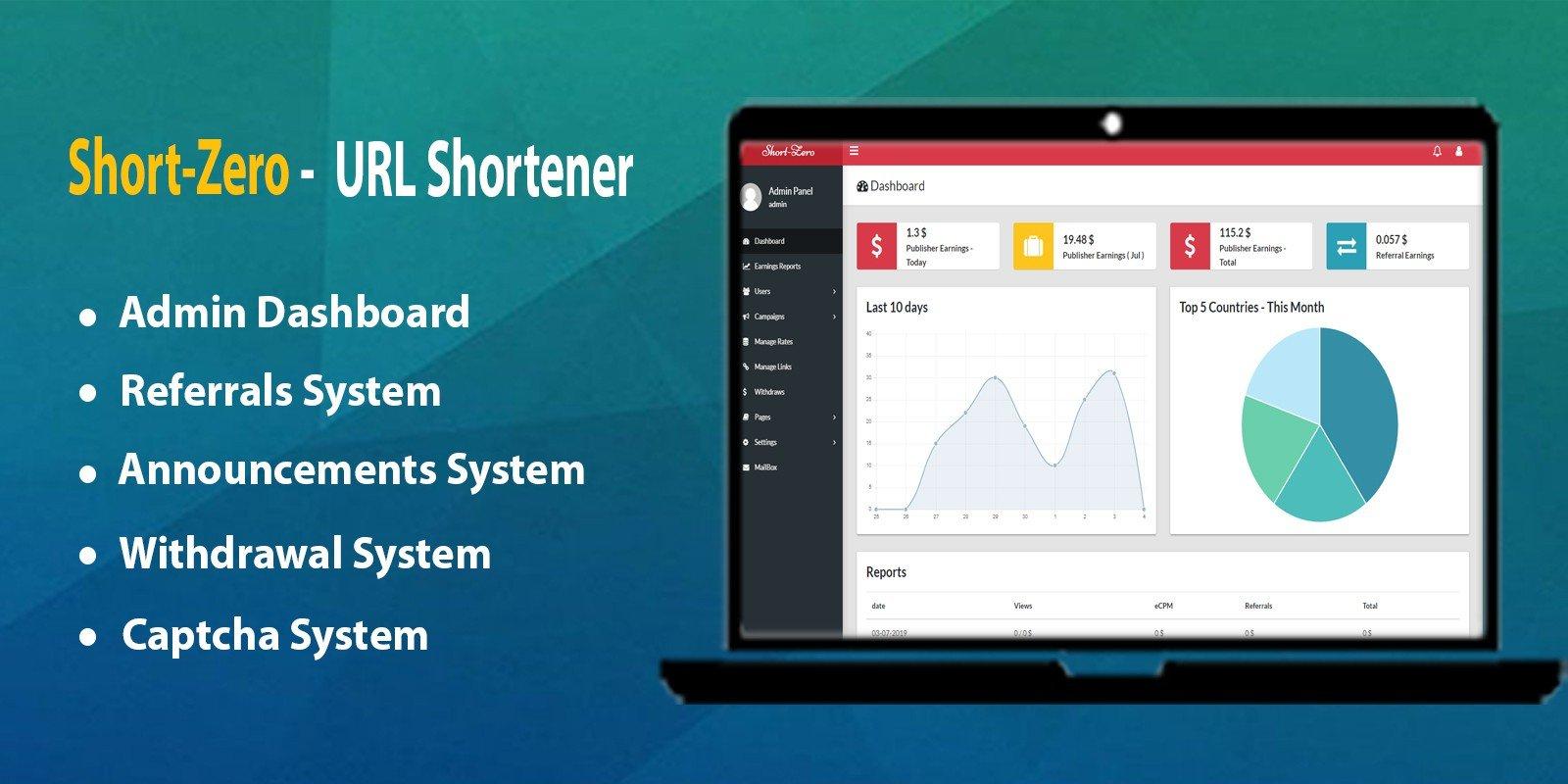 Short-Zero – URL Shortener Script